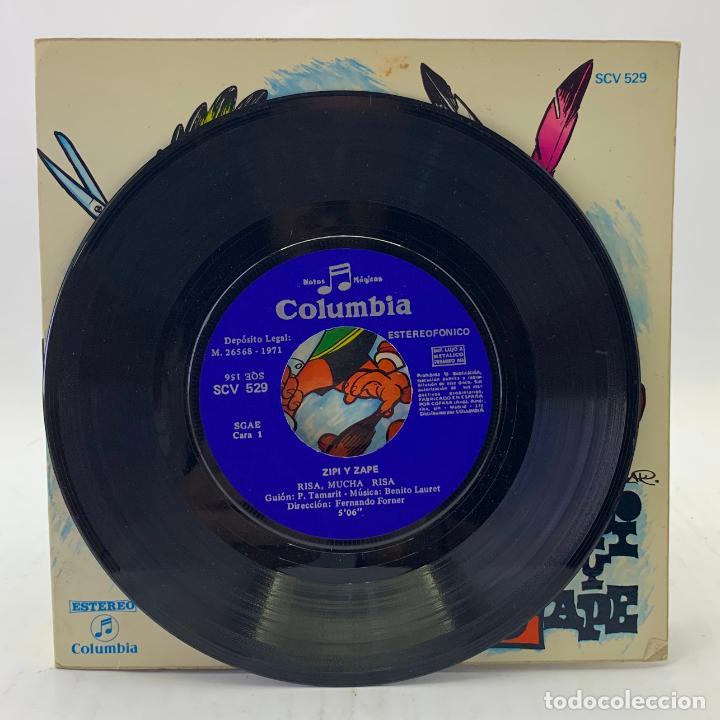 Discos de vinilo: ZIPI Y ZAPE - RISA, MUCHA RISA - SINGLE - COMIC - COLUMBIA - SCV529 - Foto 2 - 224018937