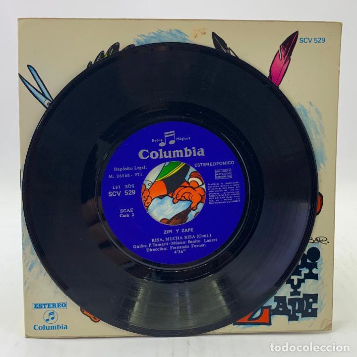 Discos de vinilo: ZIPI Y ZAPE - RISA, MUCHA RISA - SINGLE - COMIC - COLUMBIA - SCV529 - Foto 3 - 224018937