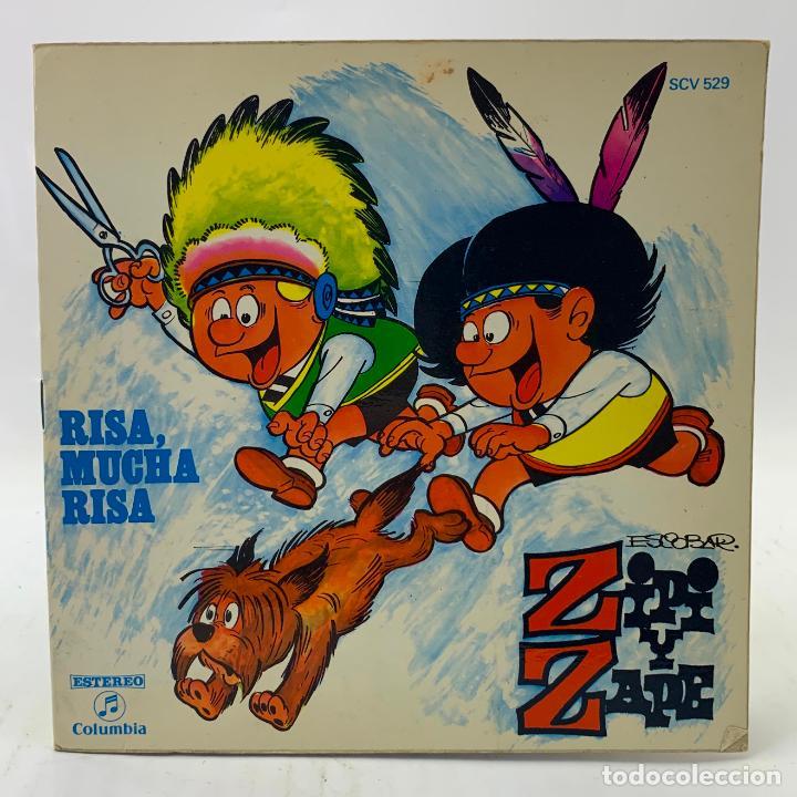 ZIPI Y ZAPE - RISA, MUCHA RISA - SINGLE - COMIC - COLUMBIA - SCV529 (Música - Discos - Singles Vinilo - Música Infantil)