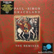 Discos de vinilo: PAUL SIMON - GRACELAND (THE REMIXES) (2XLP, COMP). Lote 224019588