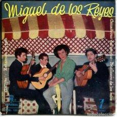 Discos de vinilo: MIGUEL DE LOS REYES / GALLITO / ESTAMOS EN PAZ + 2 (EP 1960). Lote 278690738