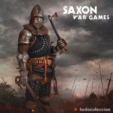 Discos de vinilo: SAXON - WAR GAMES (LP, COMP, S/EDITION, RED). Lote 224024917