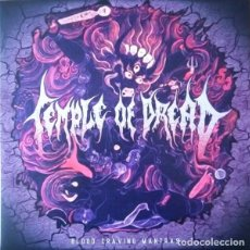 Discos de vinilo: TEMPLE OF DREAD - BLOOD CRAVING MANTRAS (LP, ALBUM, BLA). Lote 224028180