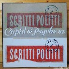 Discos de vinilo: LP ALBUM , SCRITTI POLITTI , CUPID E PSYCHE 85 , SPAIN ED.. Lote 224029240