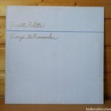Discos de vinilo: LP ALBUM , SCRITTI POLITTI , SONGS TO REMEMBER , SPAIN ED.. Lote 224029386