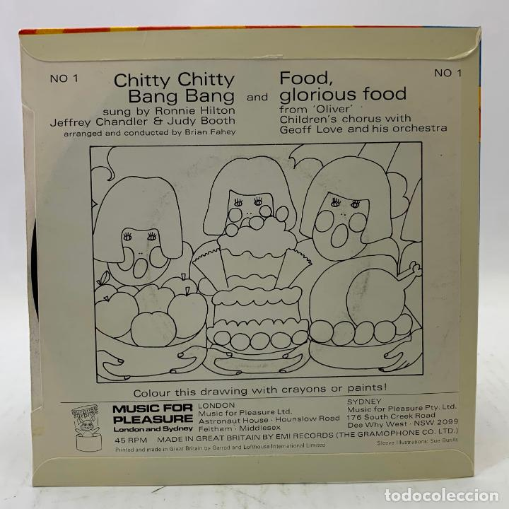 Discos de vinilo: chitty chitty bang bang and food, glorious food - MUSIC POR PLEASURE - LONDON AND SYDNEY - 1968 - Foto 4 - 224030113