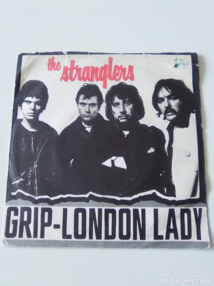 THE STRANGLERS GRIP / LONDON LADY ( 1977 UNITED ARTISTS UK ) (Música - Discos - Singles Vinilo - Punk - Hard Core)