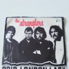 Disques de vinyle: THE STRANGLERS GRIP / LONDON LADY ( 1977 UNITED ARTISTS UK ). Lote 224031022