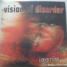 Discos de vinilo: VISION OF DISORDER - IMPRINT (LP, ALBUM, LTD, NUM, RE, YEL). Lote 224038002