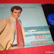 Disques de vinyle: JULIO IGLESIAS YO CANTO...LP 1974 COLUMBIA. Lote 224039040