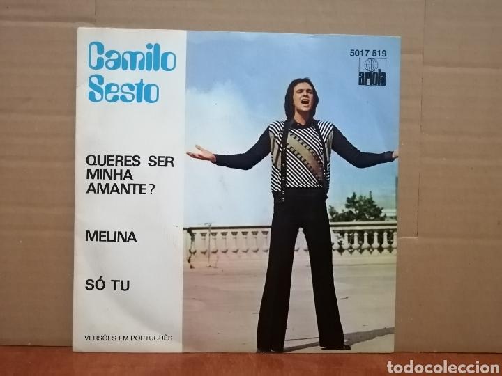 CAMILO SESTO, CANTA EN PORTUGUÉS, EP 1977 (Música - Discos de Vinilo - EPs - Solistas Españoles de los 70 a la actualidad)