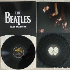 Discos de vinilo: COMO NUEVO THE BEATLES PAST MASTERS - VINILO LP DOBLE - EMI 2012 (VER FOTOS). Lote 224048572