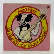 Discos de vinilo: THE WOOFTERS - LA CANCIÓN DEL GUAU-GUAU / BARK 'N' BITE - SINGLE VICTORIA 1982. Lote 224055303