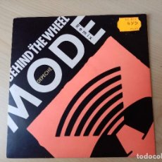 Discos de vinilo: DEPECHE MODE BEHIND THE WHEEL/ROUTE 66_VINILO 7'' EDICIÓN UK 1987. Lote 224068276