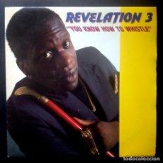 Discos de vinilo: REVELATION 3 - YOU KNOW HOW / GET IT TOGETHER - SINGLE 1992 - FONOMUSIC. Lote 224097671
