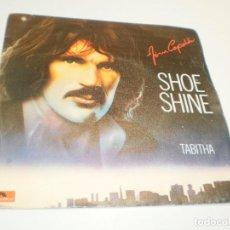 Discos de vinilo: SINGLE JIM CAPALDI. SHOE SHINE. TABHITA. POLYDOR 1979 SPAIN (PROBADO, BIEN, BUEN ESTADO). Lote 224110741