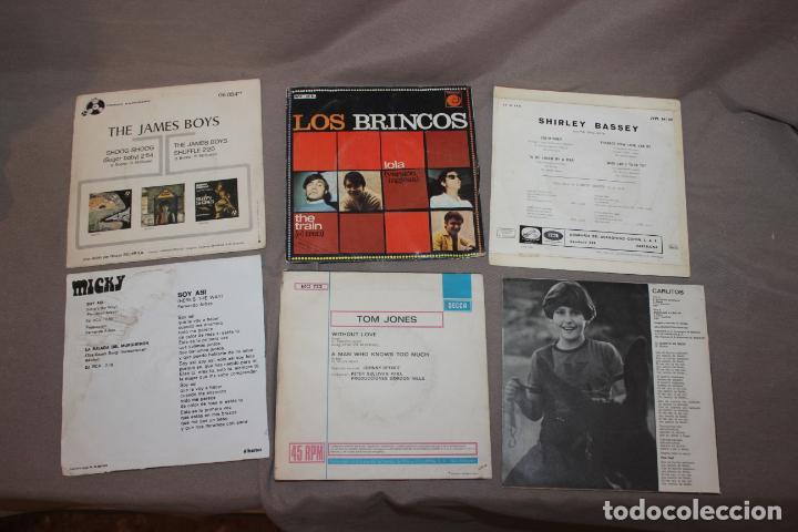 Discos de vinilo: Lote 40 singles-Pop-Rock-Nacional-Internacional-Humor-Eurovisión-Títulos en fotos adjuntas - Foto 3 - 224112473