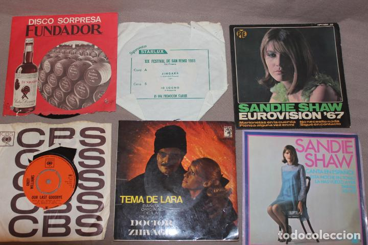 Discos de vinilo: Lote 40 singles-Pop-Rock-Nacional-Internacional-Humor-Eurovisión-Títulos en fotos adjuntas - Foto 4 - 224112473