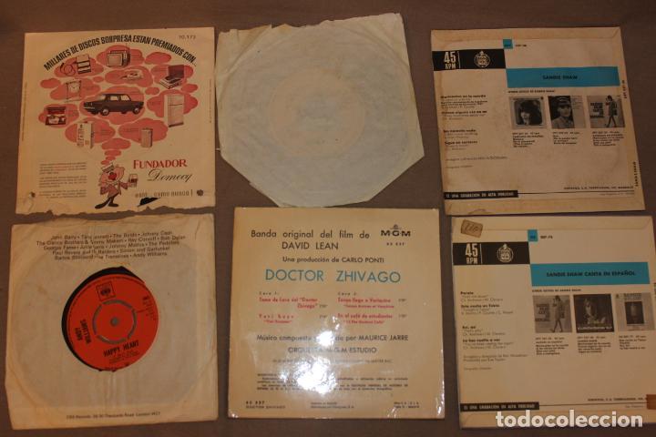 Discos de vinilo: Lote 40 singles-Pop-Rock-Nacional-Internacional-Humor-Eurovisión-Títulos en fotos adjuntas - Foto 5 - 224112473