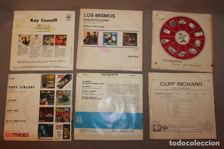 Discos de vinilo: Lote 40 singles-Pop-Rock-Nacional-Internacional-Humor-Eurovisión-Títulos en fotos adjuntas - Foto 7 - 224112473
