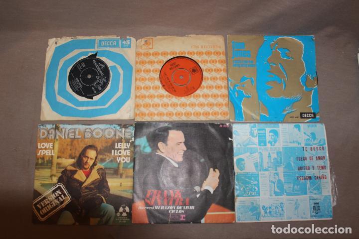 Discos de vinilo: Lote 40 singles-Pop-Rock-Nacional-Internacional-Humor-Eurovisión-Títulos en fotos adjuntas - Foto 8 - 224112473