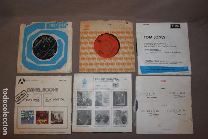 Discos de vinilo: Lote 40 singles-Pop-Rock-Nacional-Internacional-Humor-Eurovisión-Títulos en fotos adjuntas - Foto 9 - 224112473