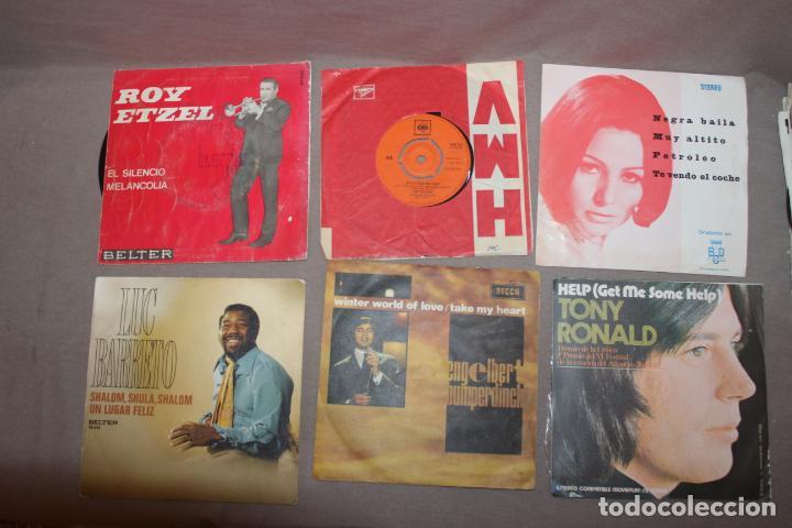 Discos de vinilo: Lote 40 singles-Pop-Rock-Nacional-Internacional-Humor-Eurovisión-Títulos en fotos adjuntas - Foto 10 - 224112473