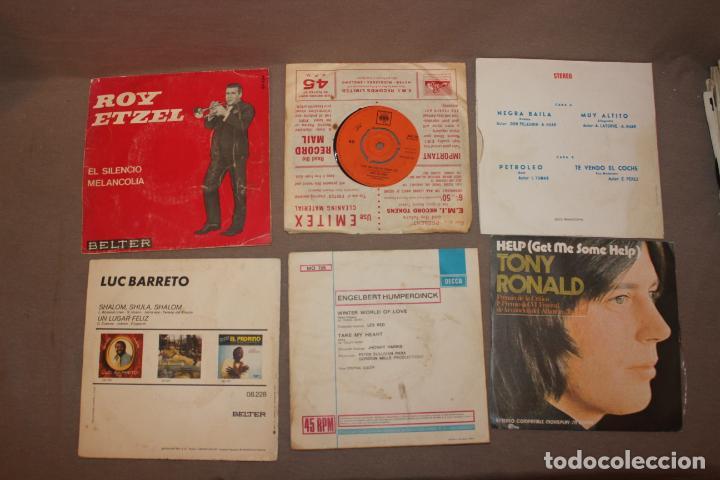 Discos de vinilo: Lote 40 singles-Pop-Rock-Nacional-Internacional-Humor-Eurovisión-Títulos en fotos adjuntas - Foto 11 - 224112473
