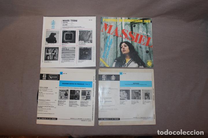 Discos de vinilo: Lote 40 singles-Pop-Rock-Nacional-Internacional-Humor-Eurovisión-Títulos en fotos adjuntas - Foto 15 - 224112473
