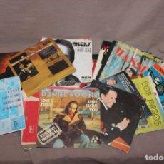 Discos de vinilo: LOTE 40 SINGLES-POP-ROCK-NACIONAL-INTERNACIONAL-HUMOR-EUROVISIÓN-TÍTULOS EN FOTOS ADJUNTAS. Lote 224112473