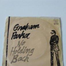 Discos de vinil: GRAHAM PARKER NO HOLDING BACK / MERCURY POISONING ( 1980 STIFF ESPAÑA ). Lote 224115151