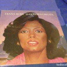 Discos de vinilo: CAJJ89 LP UK 1977 DIANA ROSS WITH MARVIN GAYE 20 GOLDEN HITS DECENTE UNA LINEA EN UNA CARA. Lote 224138803