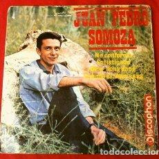 Discos de vinilo: JUAN PEDRO SOMOZA (EP. 1964) ME CONFORMO (ALGUERO) - SOFISTICADO - DING DONG - CUANDO EL AMOR SE VA. Lote 224141932