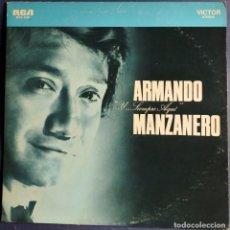 Discos de vinilo: LP ARMANDO MANZANERO Y SIEMPRE AQUÍ - RCA.. Lote 224150655