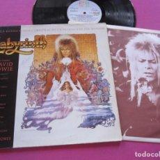 Discos de vinilo: DAVID BOWIE LABYRINTH LP ORIGINAL 1986.. Lote 224156433