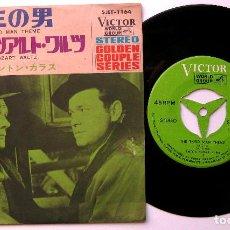 Discos de vinilo: ANTON KARAS - THE THIRD MAN THEME - SINGLE VICTOR 1970 JAPAN (EDICIÓN JAPONESA) BPY. Lote 224160108