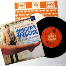 Discos de vinilo: SIMON & GARFUNKEL - THE SOUNDS OF SILENCE (EL GRADUADO) - SINGLE CBS 1968 JAPAN BPY. Lote 224180386