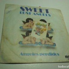 Discos de vinilo: SINGLE SWEET. LOST ANGELS. FUNK IT UP. RCA 1978 SPAIN (PROBADO, BIEN, ESTADO NORMAL, LEER). Lote 224184897