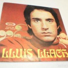 Discos de vinilo: SINGLE LLUÍS LLACH. IRENE. DESPERTAR. RES NO HA ACABAT. TEMPS I TEMPS. MOVIE 1969 PROVAT I SEMINOU. Lote 224186418