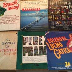 Discos de vinilo: LOTE COMPUESTO POR LOS 6 LP'S ( 6 X 10 EUROS) BUENOS MIRA FOTOGRAFIAS. Lote 224187832