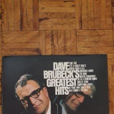Discos de vinilo: DAVE BRUBECK – DAVE BRUBECK'S GREATEST HITS GÉNERO: JAZZ, LATIN ESTILO: COOL JAZZ, BOSSA NOVA. Lote 224190911