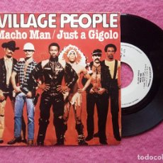 Discos de vinilo: EP VILLAGE PEOPLE - MACHO MAN / JUST A GIGOLO +1 - IM 10 213 - PORTUGAL PRESS (EX-/EX-). Lote 224191960