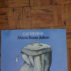 Discos de vinilo: CAT STEVENS – MONA BONE JAKON SELLO: ISLAND RECORDS – 85687, ISLAND RECORDS – 85 687 ET. Lote 224195641