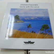 Disques de vinyle: FRANK FISCHER - GONE WITH THE WIND (CD) 1989 -12 TEMAS - BUDI SIEBERT, SAXO , FLUTE -LP -N. Lote 224210603