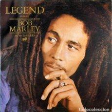 Discos de vinilo: BOB MARLEY & THE WAILERS – LEGEND - THE BEST OF BOB MARLEY AND THE WAILERS -LP-. Lote 244401010