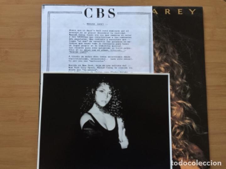 MARIAH CAREY. MARIAH CAREY (VINILO LP 1990) (Música - Discos - LP Vinilo - Pop - Rock Internacional de los 90 a la actualidad)