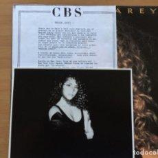 Discos de vinilo: MARIAH CAREY. MARIAH CAREY (VINILO LP 1990). Lote 224225921