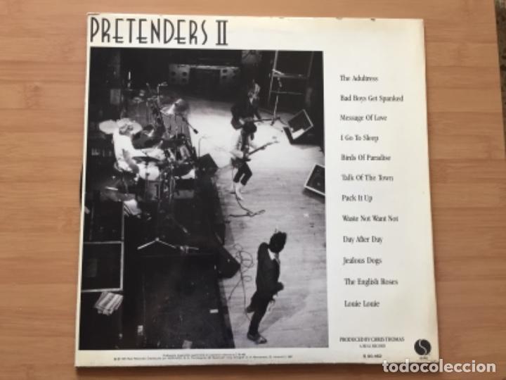 Discos de vinilo: THE PRETENDERS. Pretenders II (vinilo lp 1981) - Foto 3 - 224232732