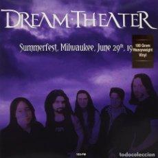 Discos de vinilo: DREAM THEATER * 2LP VIRGIN VINYL 180G HQ * SUMMERFEST MILWAUKEE JUNE 29, 1993 * PRECINTADO!!. Lote 224233308