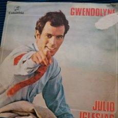 "Discos de vinilo: JULIO IGLESIAS ""GWENDOLIN"". Lote 224235598"